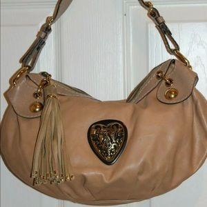 Gucci soft leather Babouska crest hobo bag